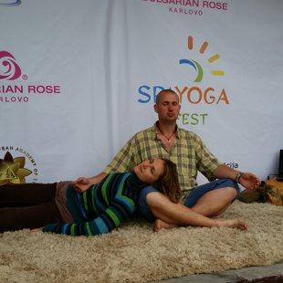 SPA YOGA festivālā 2015, Baltezerā